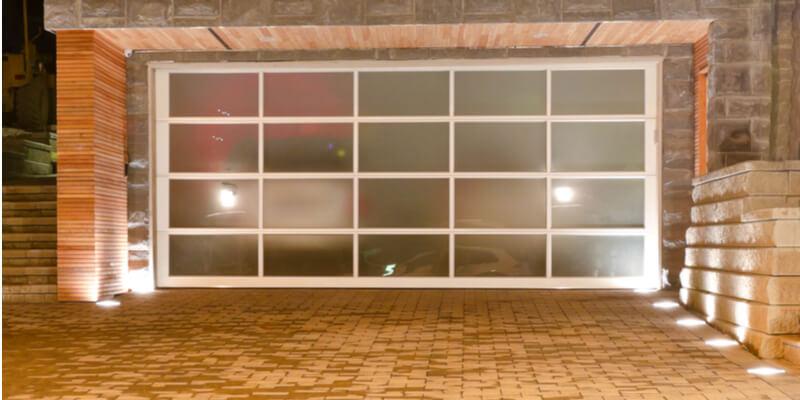 10x10 glass garage door - Ed Garage Door Repair Inc