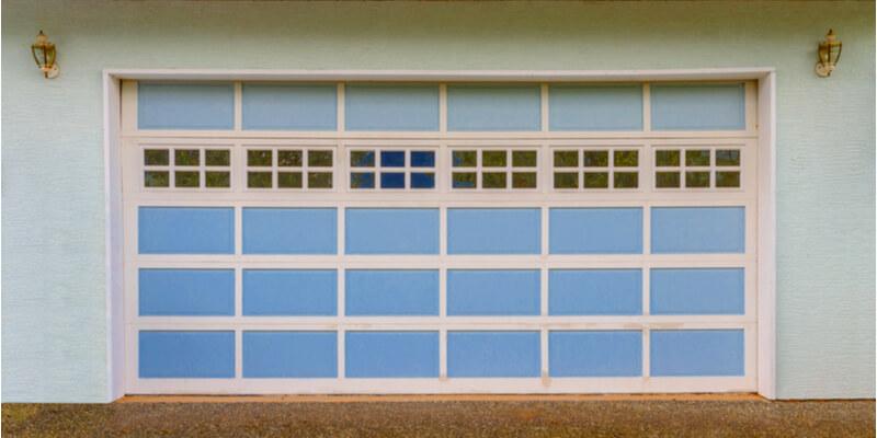 8x8 glass garage door - Ed Garage Door Repair Inc