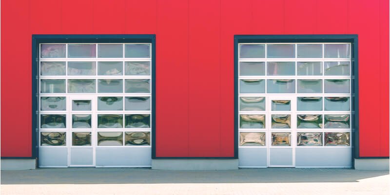 9x7 glass garage door - Ed Garage Door Repair Inc