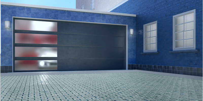 aluminium glass garage doors - Ed Garage Door Repair Inc