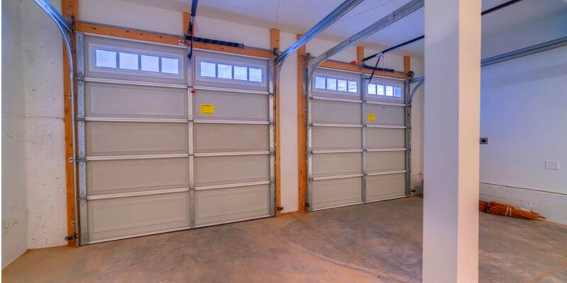 double pane glass garage door - Ed Garage Door Repair Inc