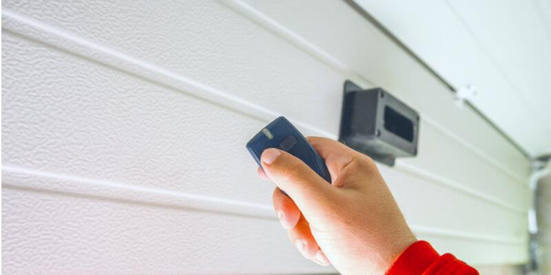 garage door opener remote wall mount - Ed Garage Door Repair Inc