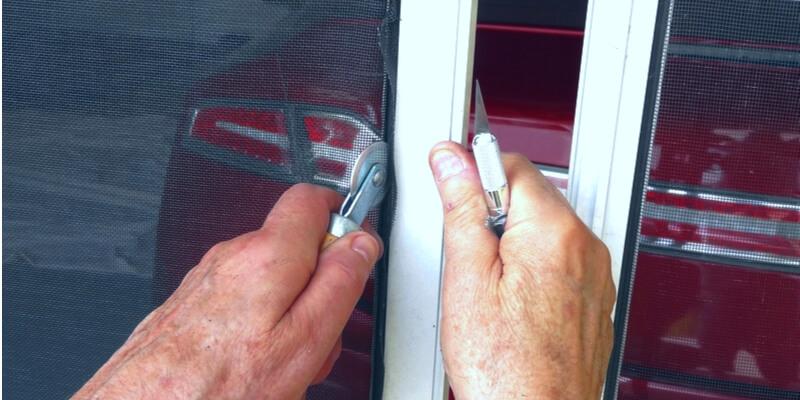 garage screen door installation - Ed Garage Door Repair Inc