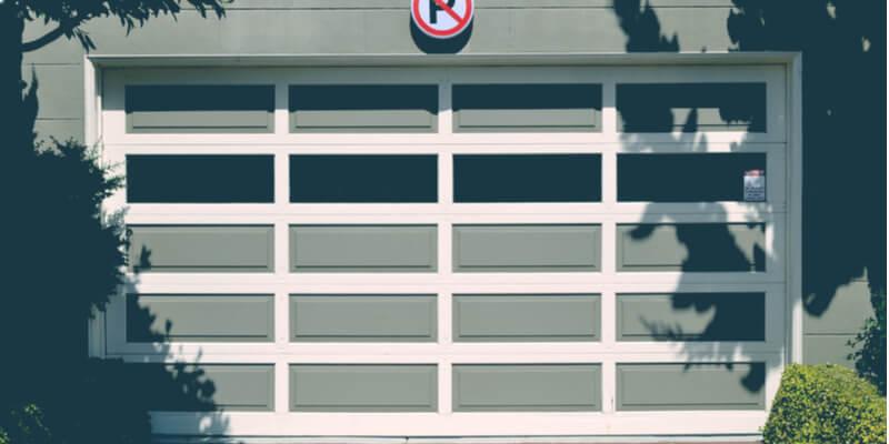 glass garage doors residential - Ed Garage Door Repair Inc