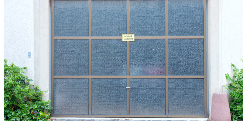 glass panel lift door - Ed Garage Door Repair Inc