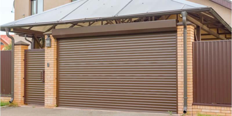 modern steel garage doors - Ed Garage Door Repair Inc