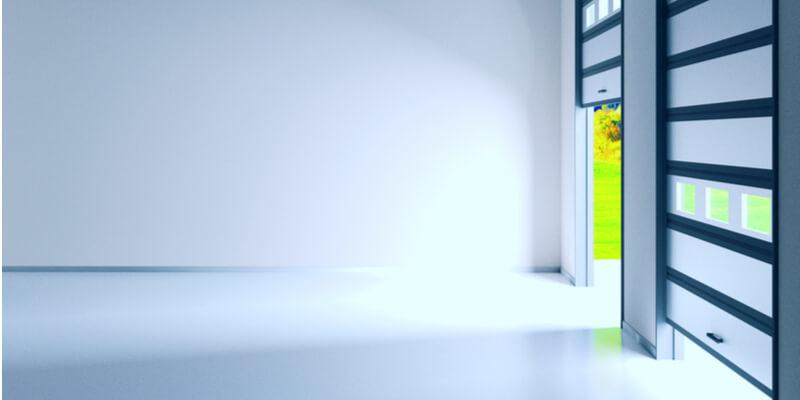 small glass garage door - Ed Garage Door Repair Inc