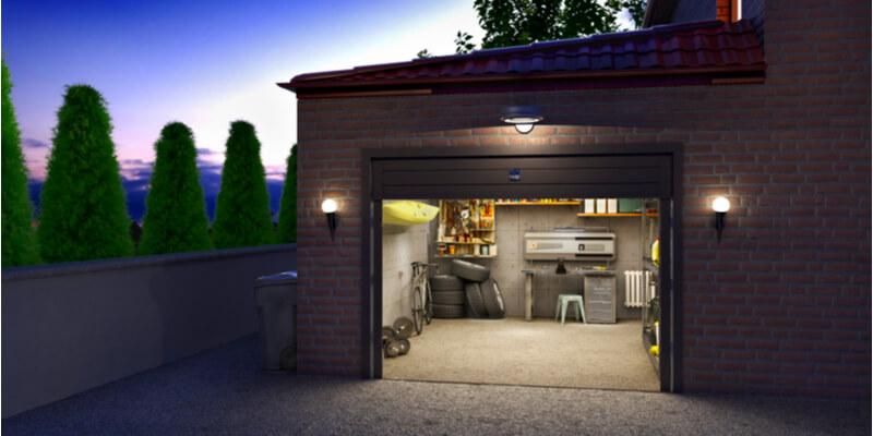 springless garage door - Ed Garage Door Repair Inc