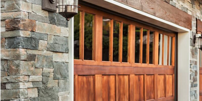 wood-and-glass-garage-door-Ed-Garage-Door-Repair