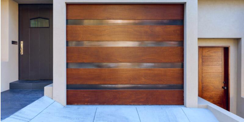 wood look garage doors - Ed Garage Door Repair Inc