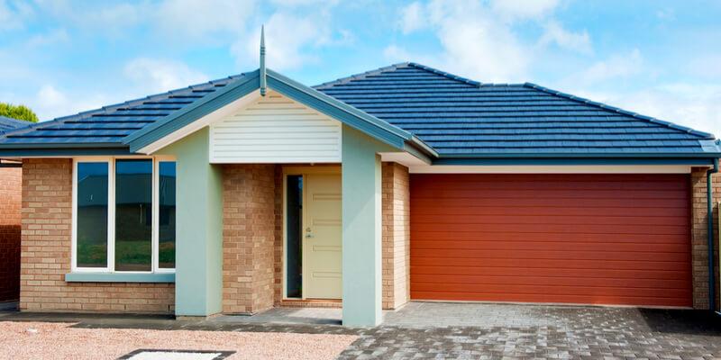modern garage doors with windows - Ed Garage Door Repair Inc