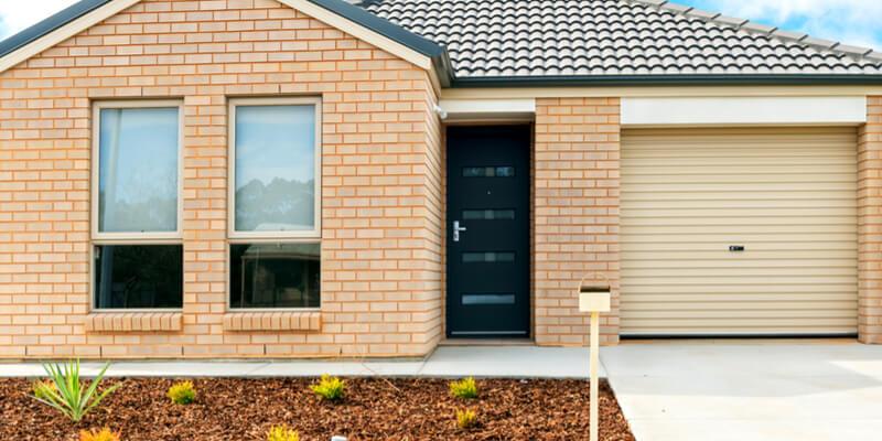 modern single garage door - Ed Garage Door Repair Inc