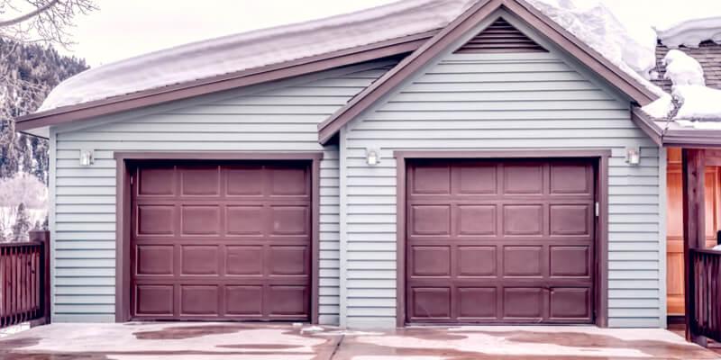modern style garage doors - Ed Garage Door Repair Inc